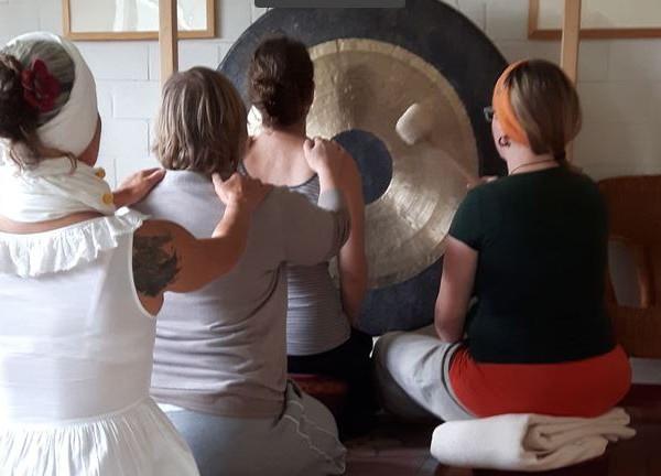 Gong-Stimme-Seelenklang