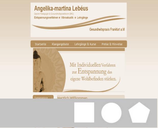 Gesundheitspraxis Lebéus, Angelika-martina