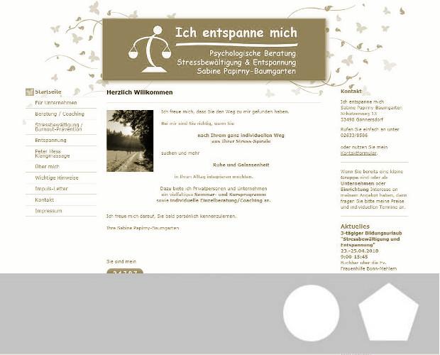 Stressmanagement-Trainerin Papirny-Baumgarten, Sabine